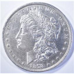 1878 7/8 TF MORGAN DOLLAR  AU/BU