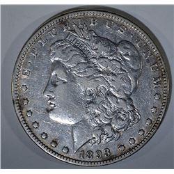 1893 MORGAN DOLLAR  XF