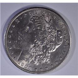 1900-S MORGAN DOLLAR  BU