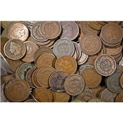 200 VARIOUS DATE INDIAN HEAD CENTS