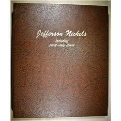 JEFFERSON NICKEL SET 1938-89 INCLUDING PROOF