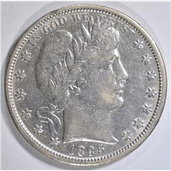 1895-O BARBER HALF DOLLAR XF