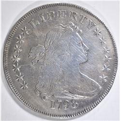 1798 BUST DOLLAR XF DAMAGE
