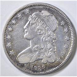 1833 BUST QUARTER XF