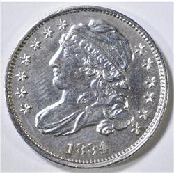 1834 BUST DIME  AU/BU