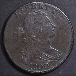 1800/79 LARGE CENT   XF