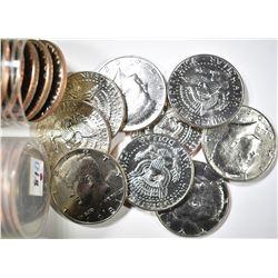 (2) ROLLS OF 1981 KENNEDY HALF DOLLARS 1 EACH P&D