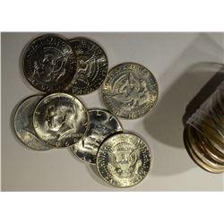 BU ROLL OF 90% & 40% KENNEDY HALF DOLLARS