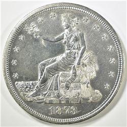1873-CC TRADE DOLLAR  CH/GEM BU