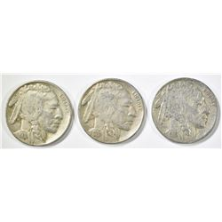 3 - 1931-S BUFFALO NICKELS XF