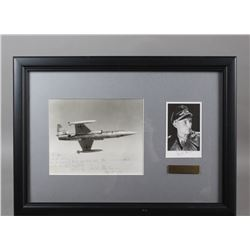 WWII Nazi Ace of Aces Erich Hartmann Signed Photos