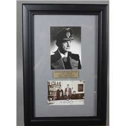 WWII Nazi Karl Doenitz Autographed Photo