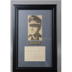 WWI Nazi Luftwaffe Gen. Kurt Student Signed Letter