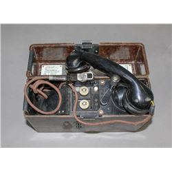 WWII Nazi Field Radio with Bakelite Case
