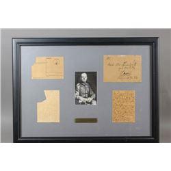 WWII Nazi Gerd von Rundstedt Signed Notes