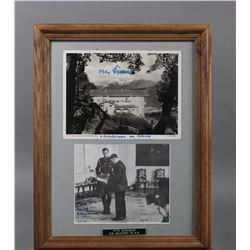 WWII Nazi SS Otto Gunsche Autographed Photos