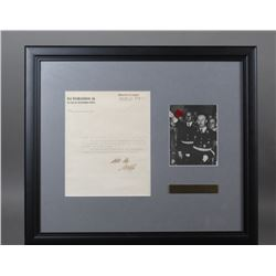 WWII Nazi SS Karl Wolff Signed Document