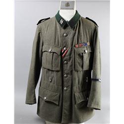 WWII Nazi Waffen SS Field Gray Tunic