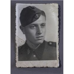 WWII Nazi Photograph SS Soldier