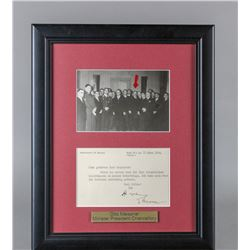 WWII Nazi Otto Meissner Signed Letter and Photo