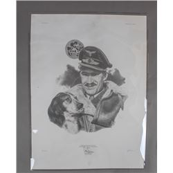 1988 Signed Limited Edition Print of Adolf Galland
