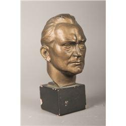 WWII Nazi Vintage Hermann Goering Signed Bust