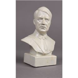 WWII Nazi Small Bust of Adolf Hitler