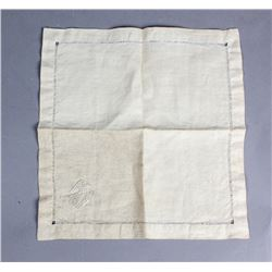 WWII Nazi Adolf Hitler Formal Napkin