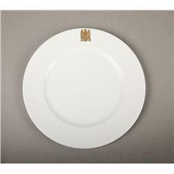 WWII Nazi Adolf Hitler Porcelain Plate