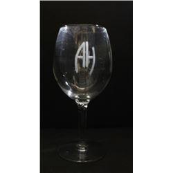 WWII Nazi Adolf Hitler Large Wine Glass