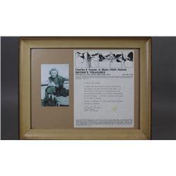 WWII Nazi Genuine Strand of Eva Braun's Hair