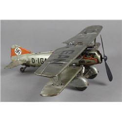 Tippco Nazi Biplane Windup Toy