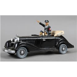 King & Country Mercedes Staff Toy Car