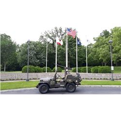 1953 Willys M38A1 US Korean War Military Jeep