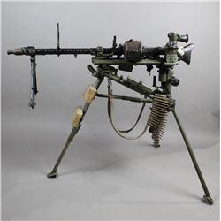 WWII Nazi MG34 Machine Gun