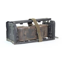 WWII Nazi MG34 Saddle Drum and Carrier
