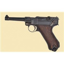 DWM 1920 Police Pistol 9MM