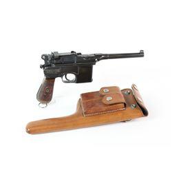 Broomhandle Mauser Pistol 9MM Red 9