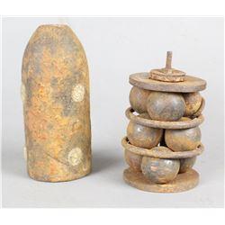 Civil War Era Cannon Shells