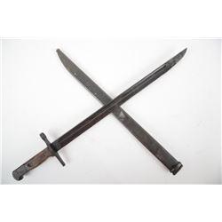 WWII Japanese Type 30 Bayonet w/Scabbard
