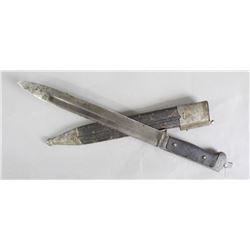 1893 Dutch Bayonet w/ Scabbard