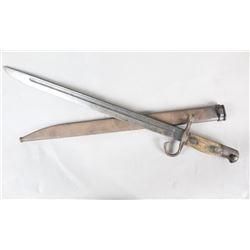WWII Japanese Bayonet w/Scabbard