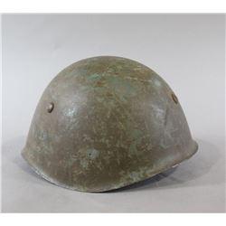 Italian WWII Helmet w/Liner