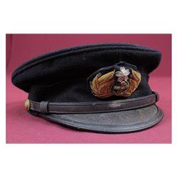 WWII Japanese Navy Round Cap