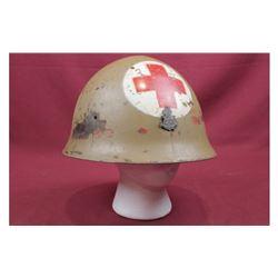 WWI Japanese Medic Helmet