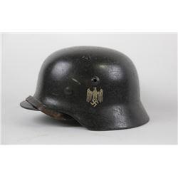 WWII Nazi Army Helmet Single Decal