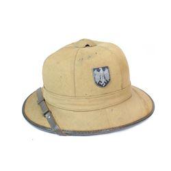WWII Nazi Pith Helmet