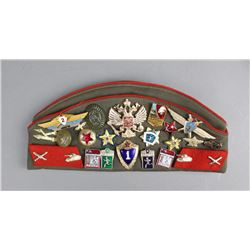 Russian Hat and Insignia