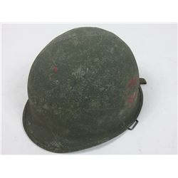 Soldiers Steel Helmet with Liner and Straps