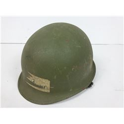 Soldiers Steel Helmet with Liner and strap